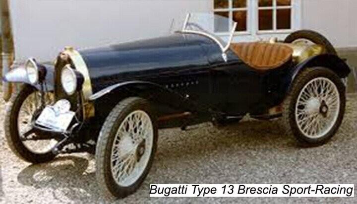 Bugatti Type 13 Brescia Sport Racing