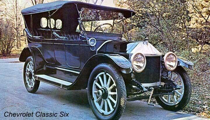 Những chiếc xe hơi ban đầu