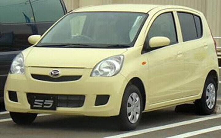 Mẫu xe tại thị trường Châu Á