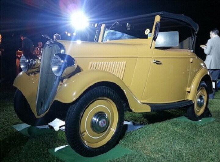 Những chiếc xe cổ của hãng