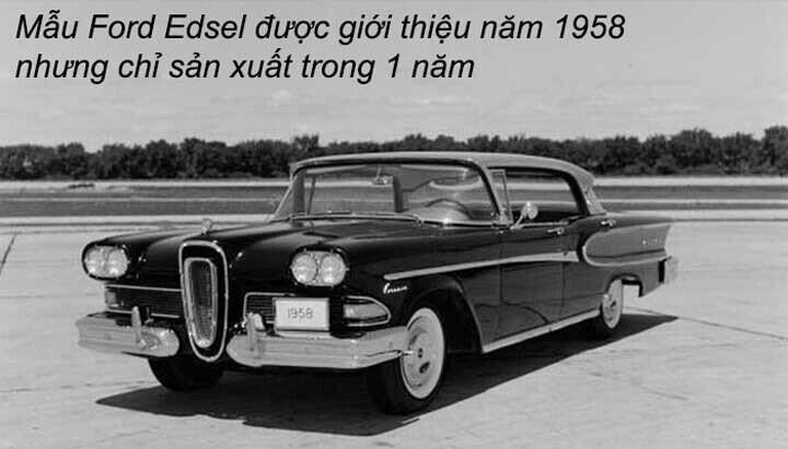 Mẫu Xe Edsel
