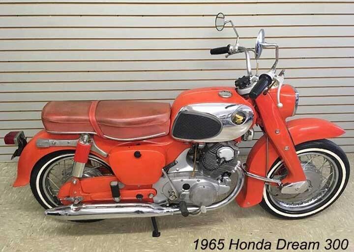 Mẫu xe máy của Honda
