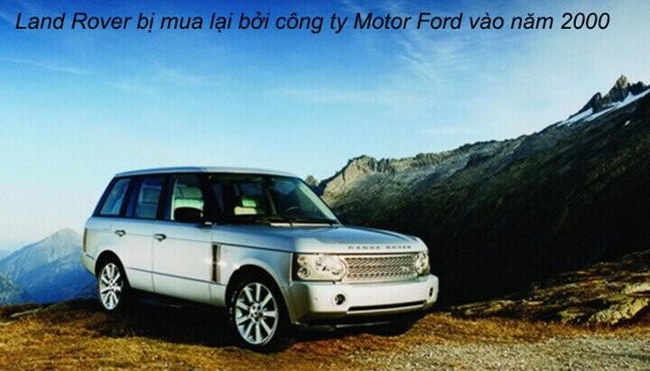 Motor Ford mua lại Landrover