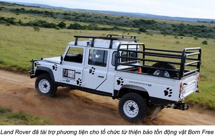 Land Rover đã tài trợ phương tiện cho Hội Địa lý hoàng gia Anh hơn 20 năm qua