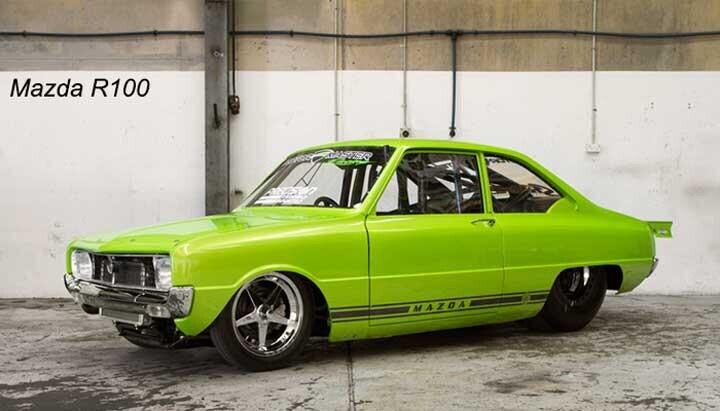 Những mẫu xe xuất sang thị trường nước ngoài - Mazda R100