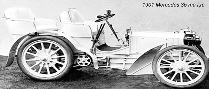 Chiếc xe đầu tiên mang thương hiệu Mercedes-Benz được sản xuất năm 1926