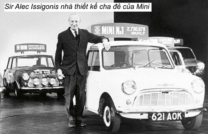 Sir Alec Issigonis cha đẻ của thiết kế Mini