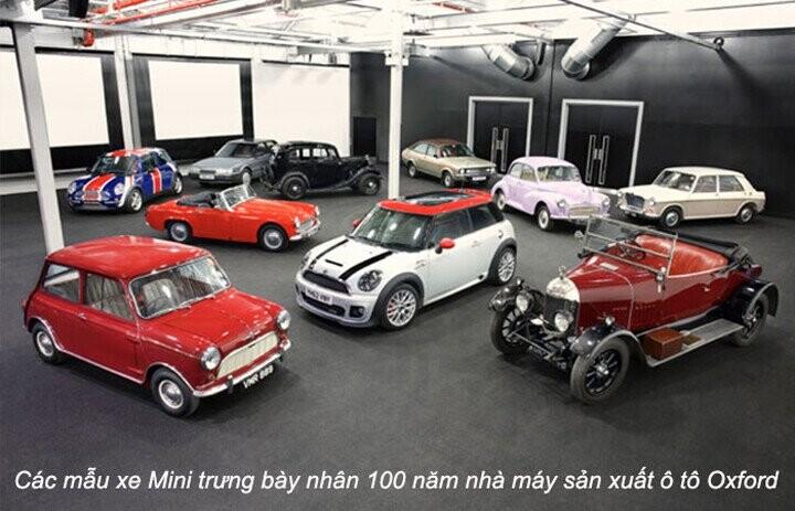 Các mẫu xe qua từng thời kỳ