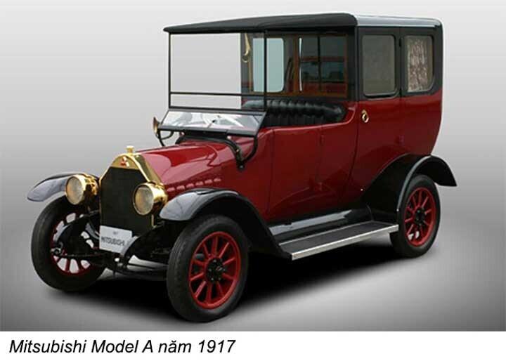 Chiếc xe du lịch Model-A năm 1917