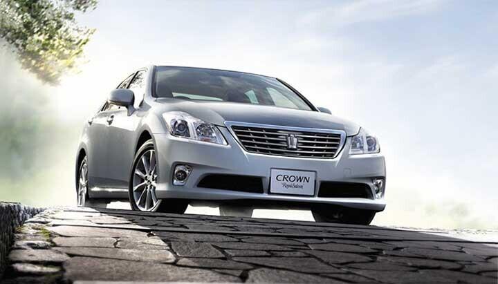 Mẫu xe Crown