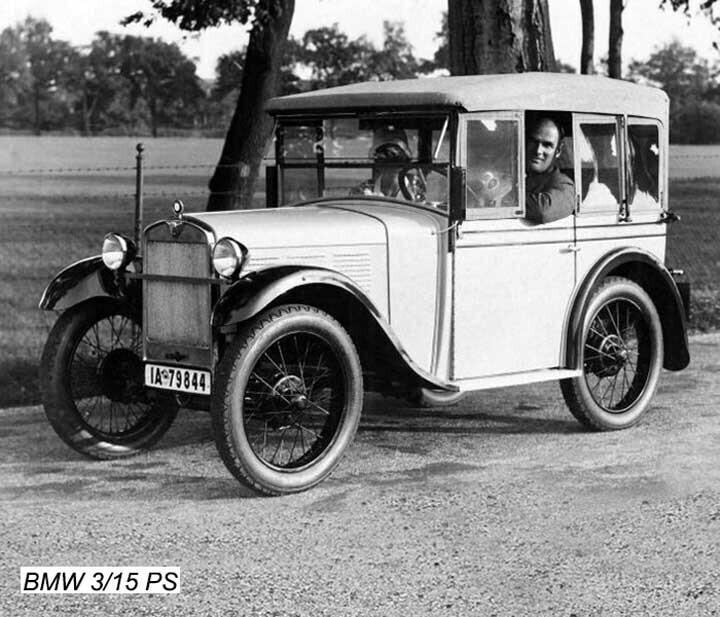 Chiếc xe hơi đầu tiên có tên là 3/15 PS