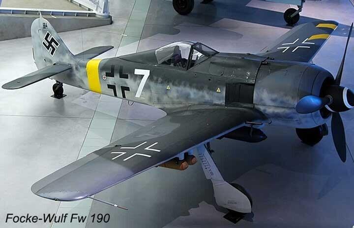 Máy bay Focke-Wulf Fw 190