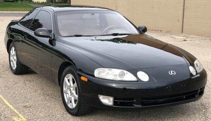 Mẫu xe coupe thể thao SC 400
