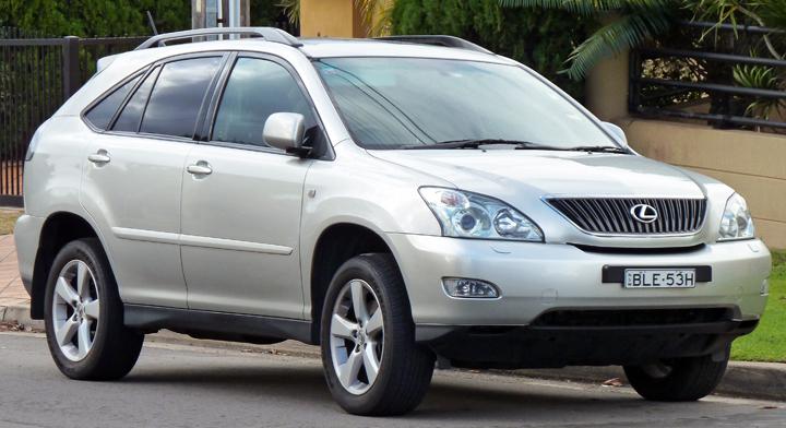 Mẫu xe Hybrid của dòng RX