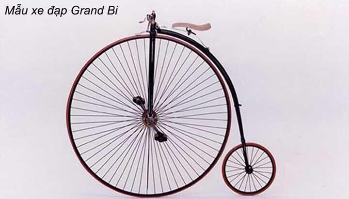 Mẫu xe đạp khung kim cương