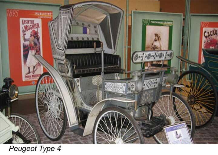 Mẫu xe chạy xăng đầu tiên