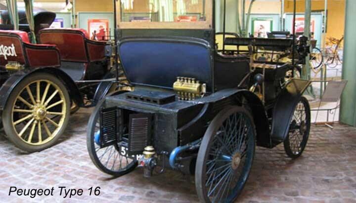Mẫu xe đầu tiên sử dụng động cơ 2 xi-lanh nằm ngang của Michaux