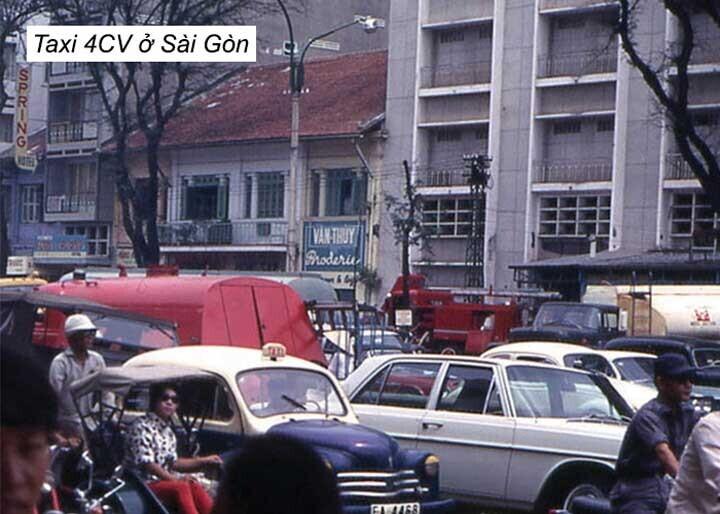 Những chiếc 4CV ở Sài Gòn