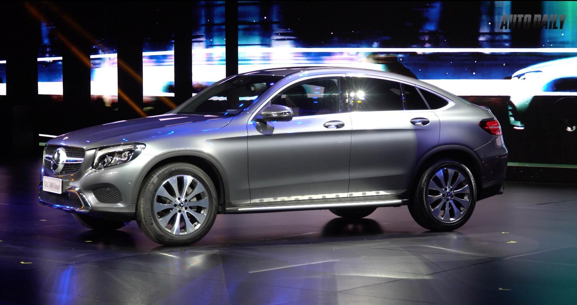 Tìm hiểu nhanh Mercedes GLC 300 4MATIC Coupe giá 2,9 tỷ đồng - Hình 1