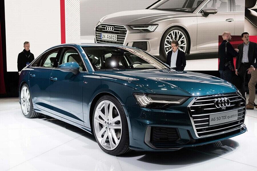 Audi A6 Sedan mang nét đẹp vừa thể thao, vừa sang trọng rất đậm chất châu Âu