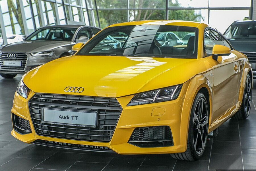 Audi TT sở hữu bộ cánh đậm chất thể thao