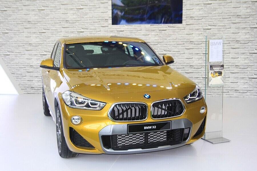 BMW X2 phong cách thiết kế hiện đại, sang trọng
