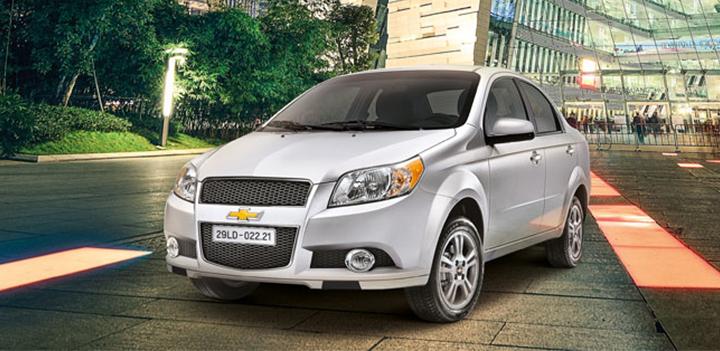 Chevrolet Aveo vững chãi, đậm chất nam tính, nhưng cũng không kém phần trẻ trung thời thượng