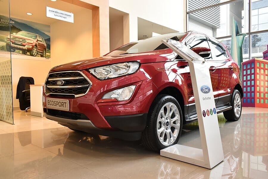 Phong cách SUV đầy ấn tượng của EcoSport 1.5L MT Ambiente