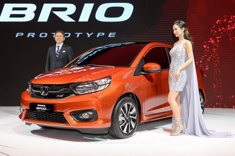 Honda Brio mẫu xe hạng nhỏ sở hữu thiết kế dành cho thành thị