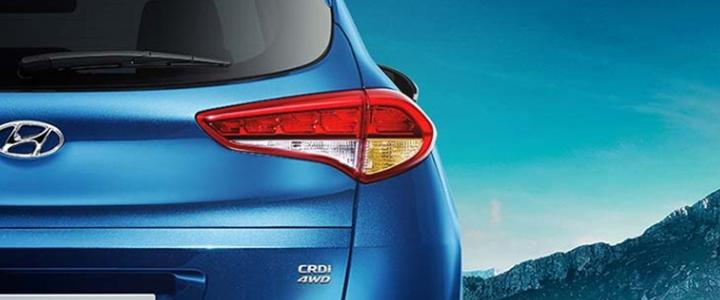 Hyundai Tucson sở hữu thiết kế tổng thể cân đối với tư tưởng giúp người lái cùng chiếc xe hòa nhập cùng thiên nhiên
