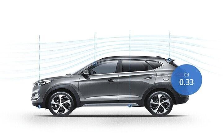 Hyundai Tucson thế hệ hoàn toàn mới bên cạnh ngoại thất mang tính thẩm mỹ cao
