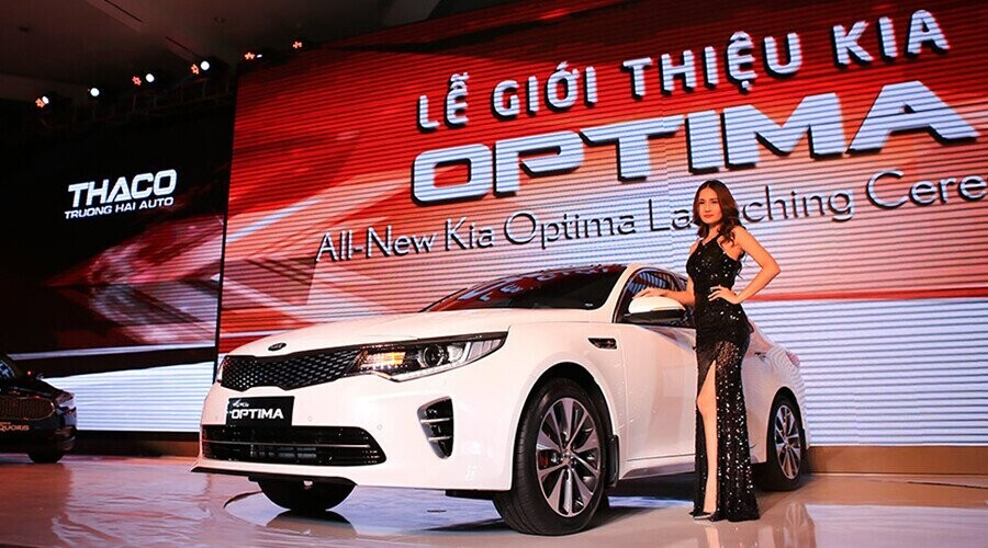 Kia Optima mới với nhiều cải tiến, thiết kế thể thao, trẻ trung