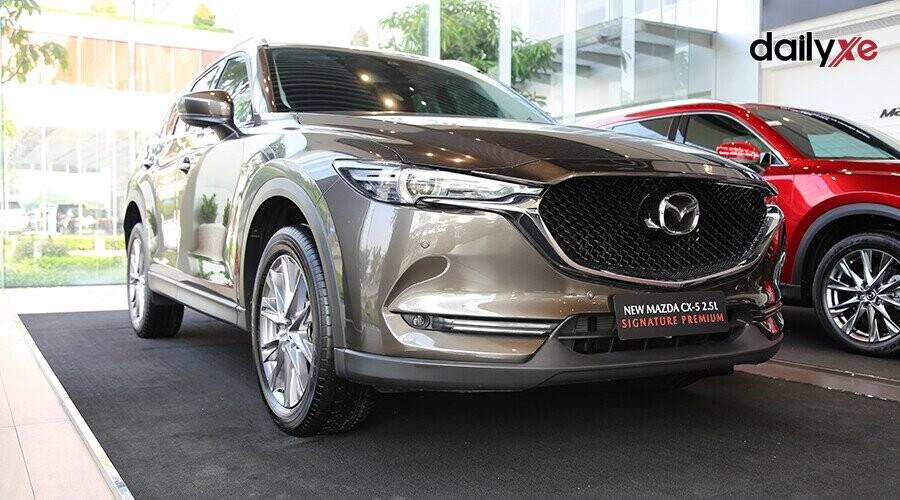 Mazda CX-5 lịch lãm, thu hút từng góc nhìn