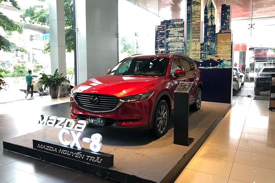 Mazda CX-8 thiết kế tinh tế cùng hiệu suất vượt trội