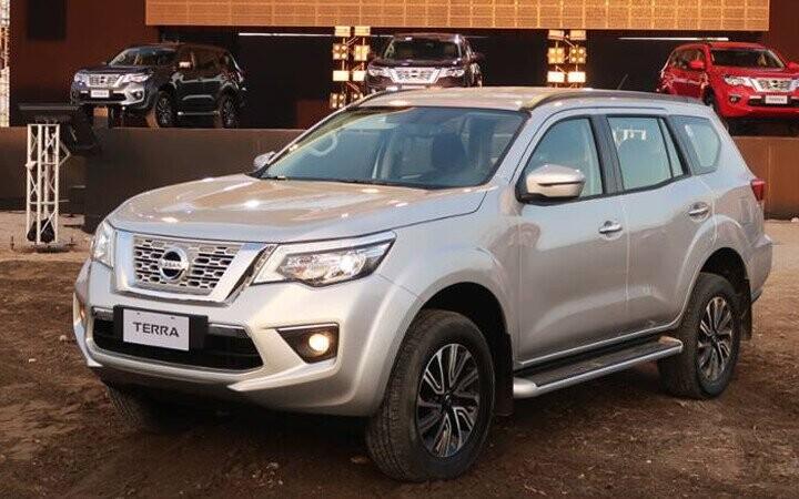 Nissan Terra mới ra mắt được thiết kế dựa trên nền tảng hiếc bán tải Navara mạnh mẽ
