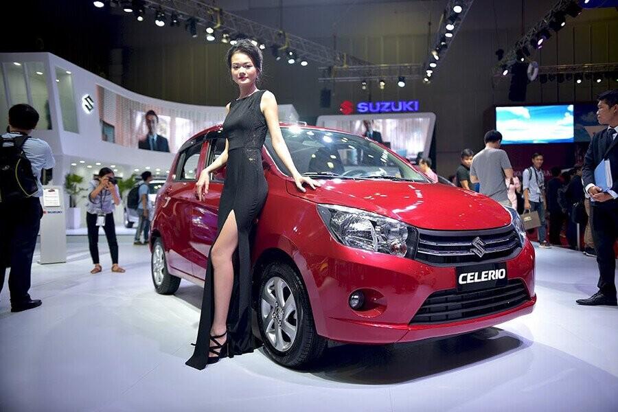 Suzuki Celerio sở hữu diện mạo ngoại thất hút mắt