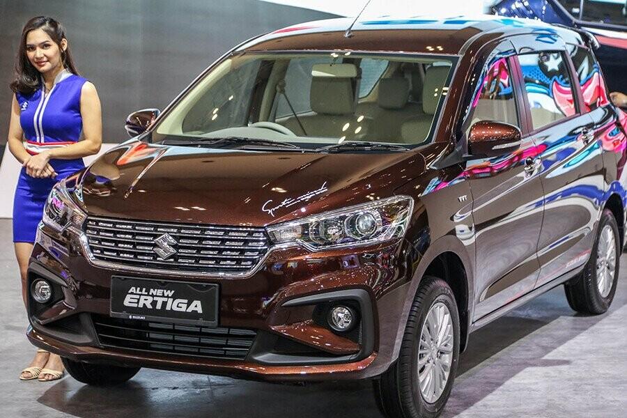 Suzuki Ertiga 2019 là mẫu xe MPV 7 chỗ