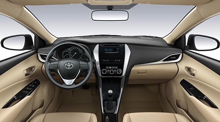 Vios thiết kế sang trọng đem cả thế giới vào trong tầm tay ngưới lái