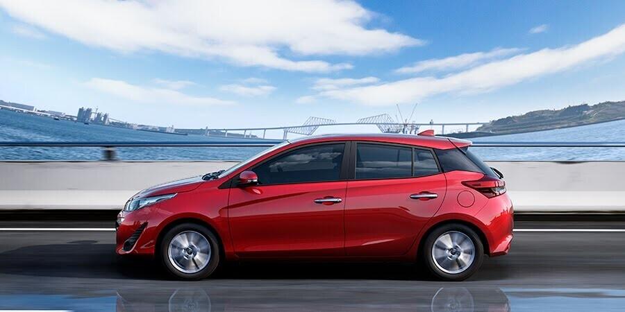 Toyota Yaris - lợi thế đến từ sự đơn giản nhưng vẫn đảm bảo sự thoải mái, bền bỉ khi sử dụng