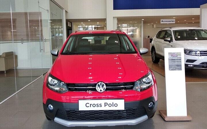 Volkswagen Cross Polo mang tới ấn tượng rõ nét ngay từ cái nhìn đầu tiên