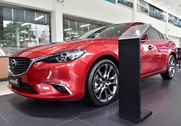 Tổng quan Mazda 6 Luxury