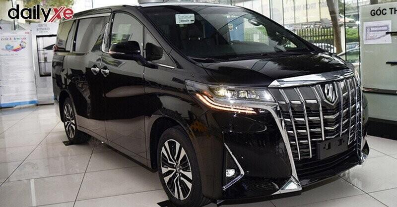 Tổng quan Toyota Alphard Luxury