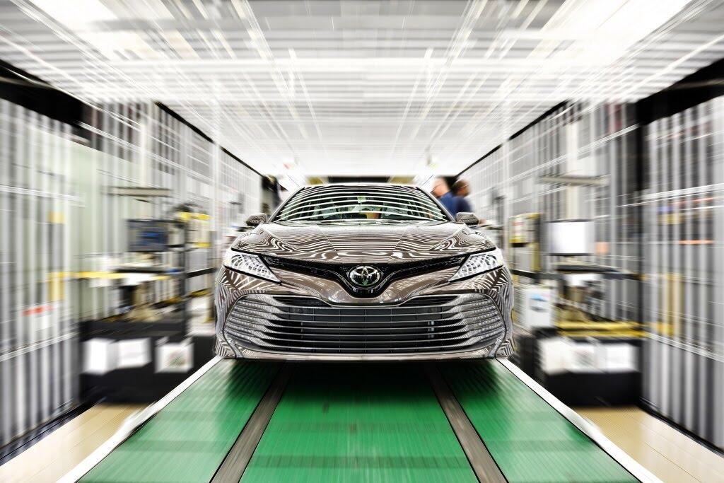 Toyota Camry 2018 bắt đầu sản xuất tại nhà máy Kentucky - Hình 3