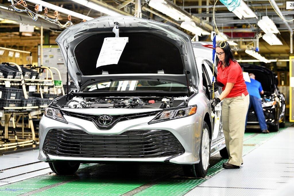 Toyota Camry 2018 bắt đầu sản xuất tại nhà máy Kentucky - Hình 4