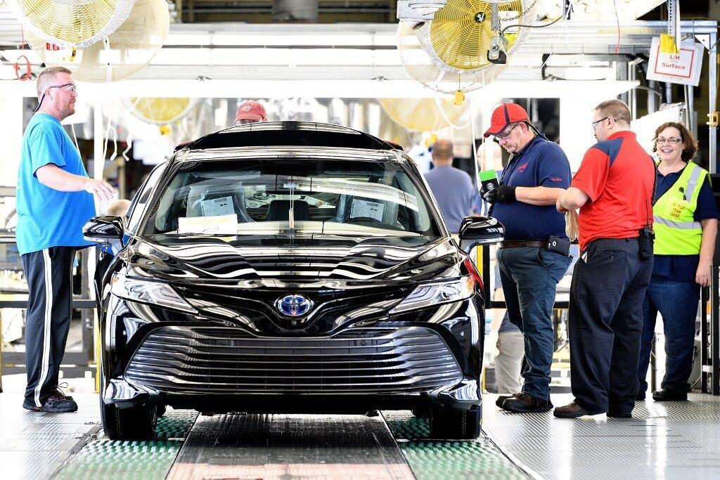 Toyota Camry 2018 bắt đầu sản xuất tại nhà máy Kentucky - Hình 9