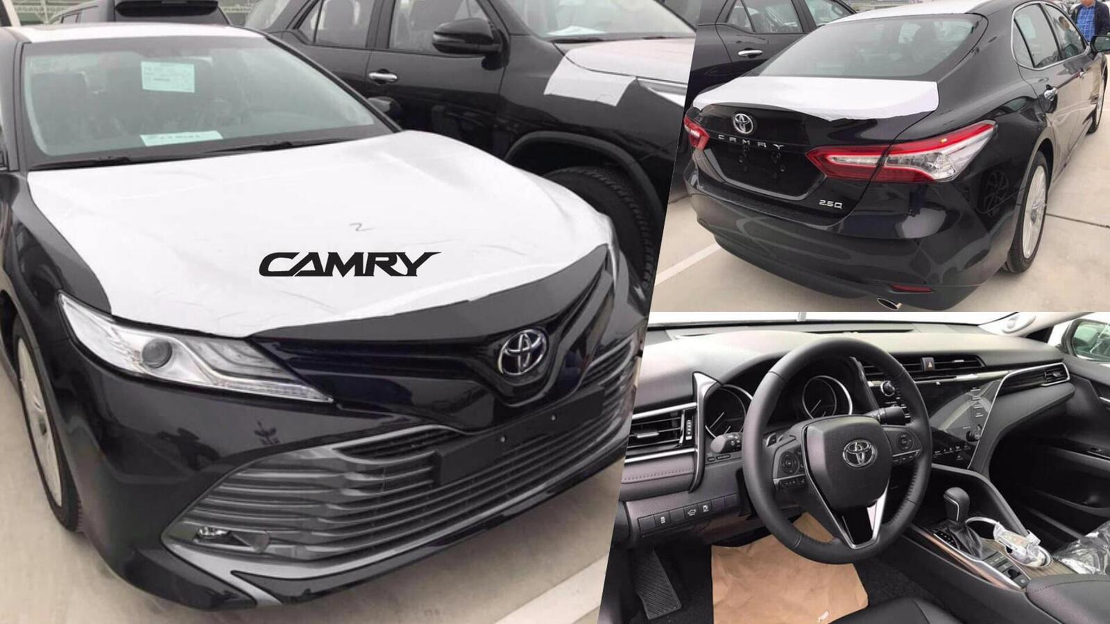 Toyota Camry thế hệ mới đã về đến Việt Nam - Chuẩn bị ra mắt công chúng - Hình 1