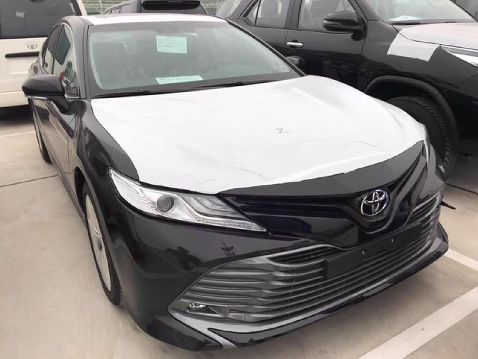 Toyota Camry thế hệ mới đã về đến Việt Nam - Chuẩn bị ra mắt công chúng - Hình 2