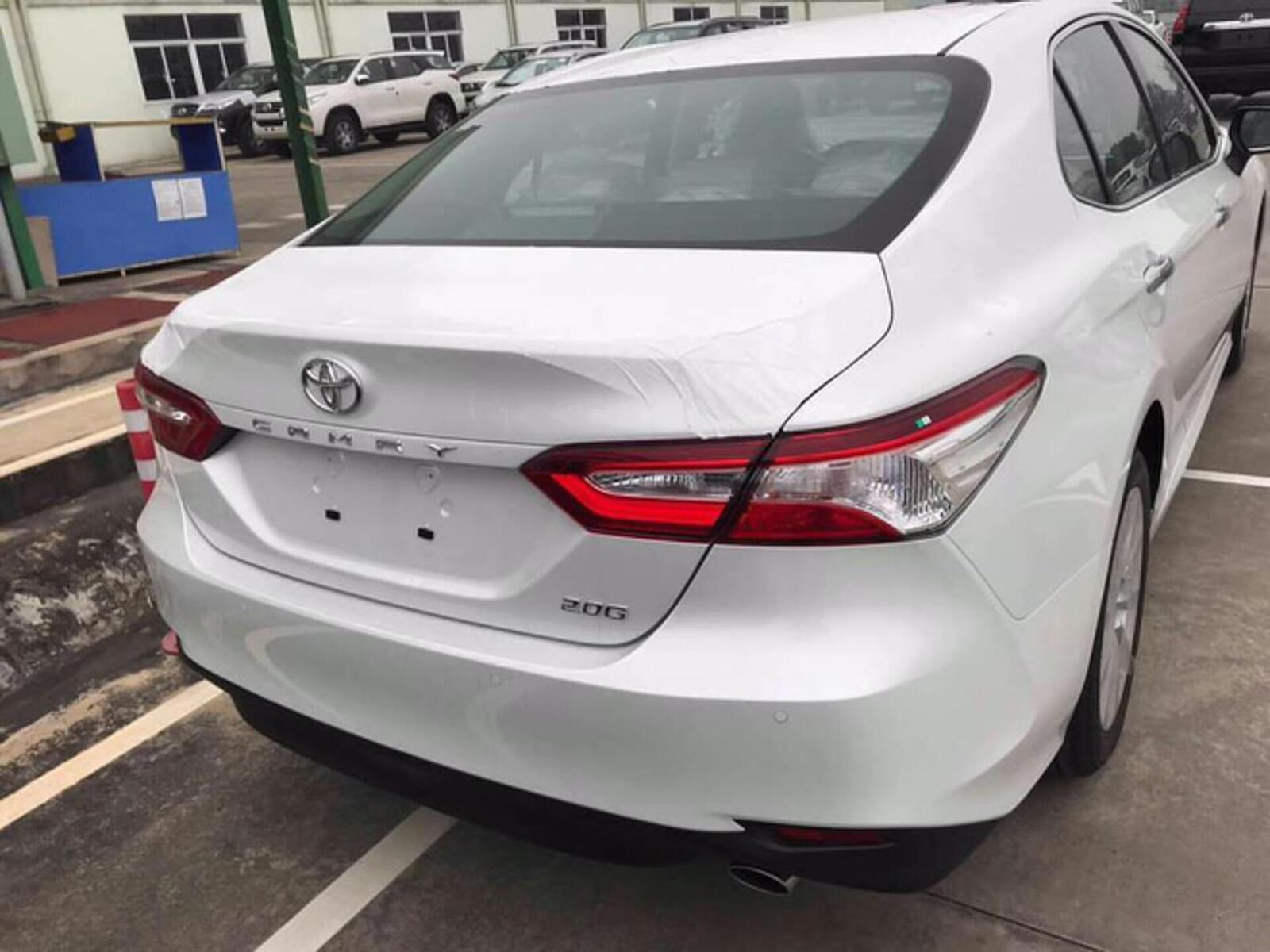 Toyota Camry thế hệ mới đã về đến Việt Nam - Chuẩn bị ra mắt công chúng - Hình 4