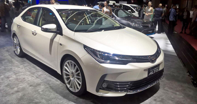 Toyota Corolla Altis 2017 phiên bản đặc biệt có giá từ 32.200 USD - Hình 1