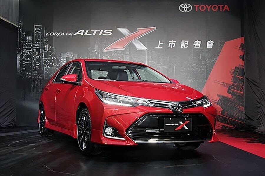 Toyota Corolla Altis X 2017 ra mắt Đài Loan với giá bán từ 589 triệu VNĐ - Hình 1